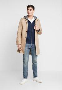 s.Oliver - veste en sweat zippée - blue - 1