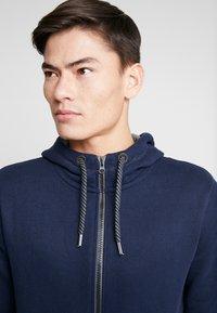 s.Oliver - veste en sweat zippée - blue - 4