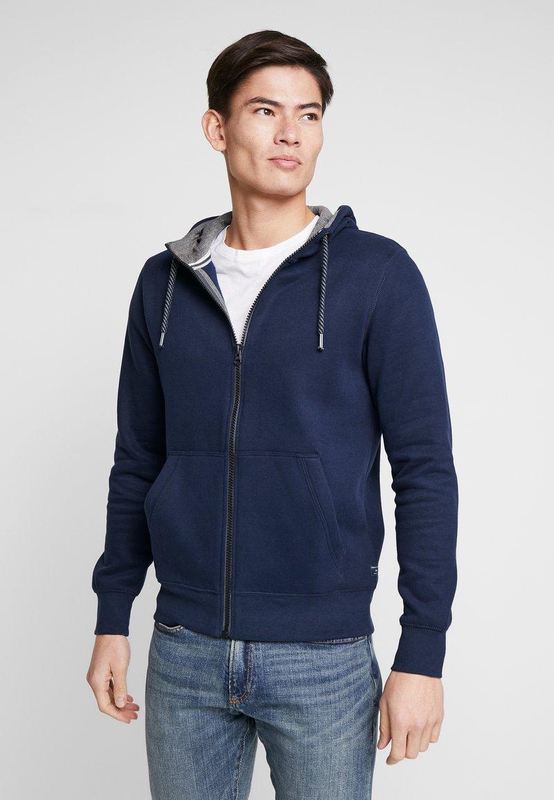 s.Oliver - veste en sweat zippée - blue