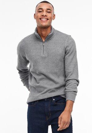 MIT REISSVERSCHLUSS - Sweatshirt - grey