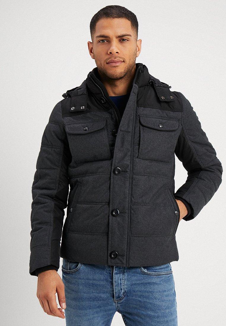 s.Oliver - OUTDOOR - Light jacket - black melange