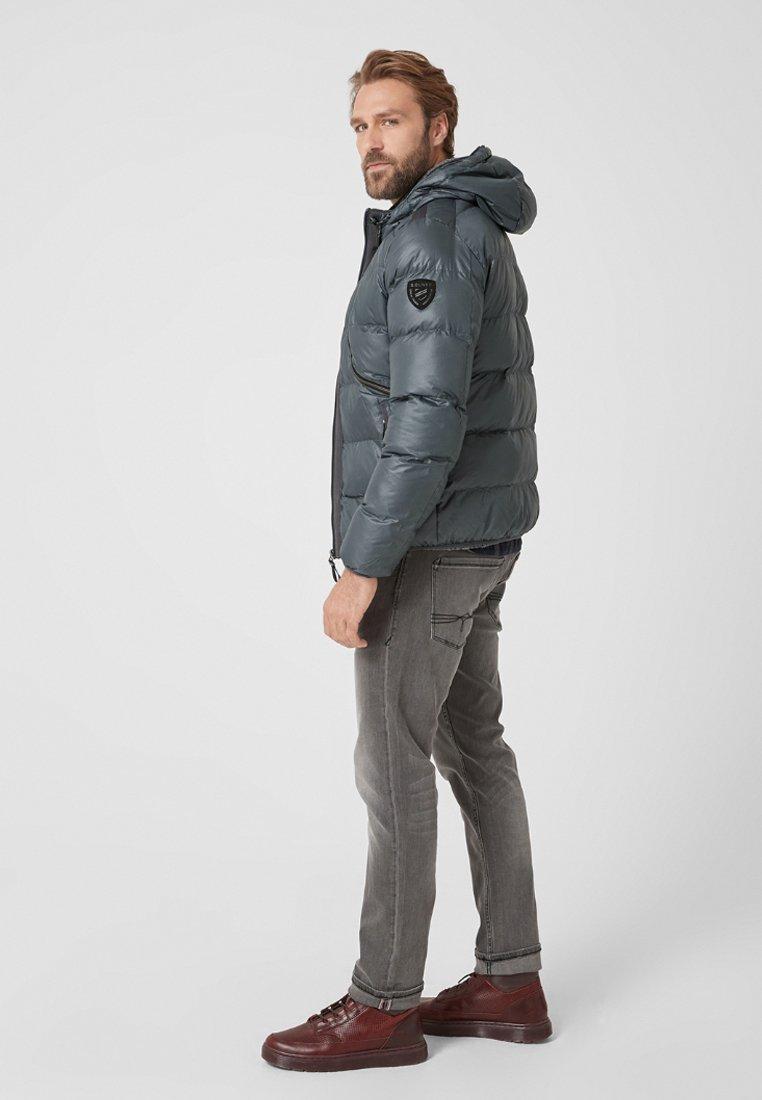 s.Oliver - MIT STRUKTUR - Winterjacke - gray