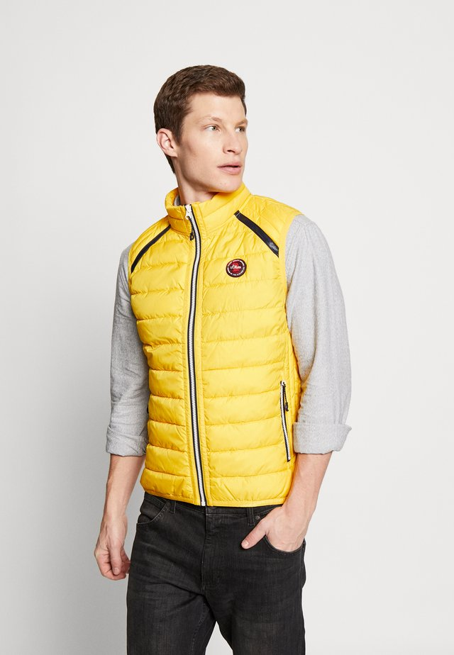 Bodywarmer - yellow