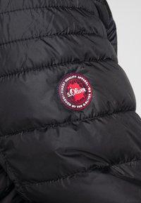 s.Oliver - Zimní bunda - black - 7