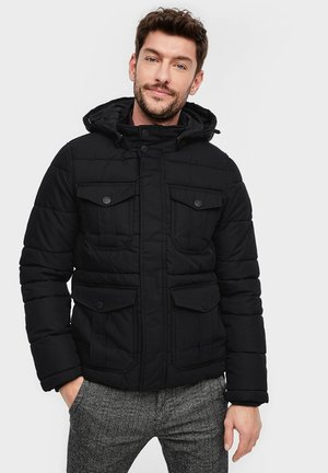 REGULAR FIT - Veste d'hiver - black
