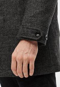 s.Oliver - Wintermantel - dark grey melange - 5