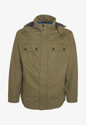 JACKE LANGARM - Summer jacket - green