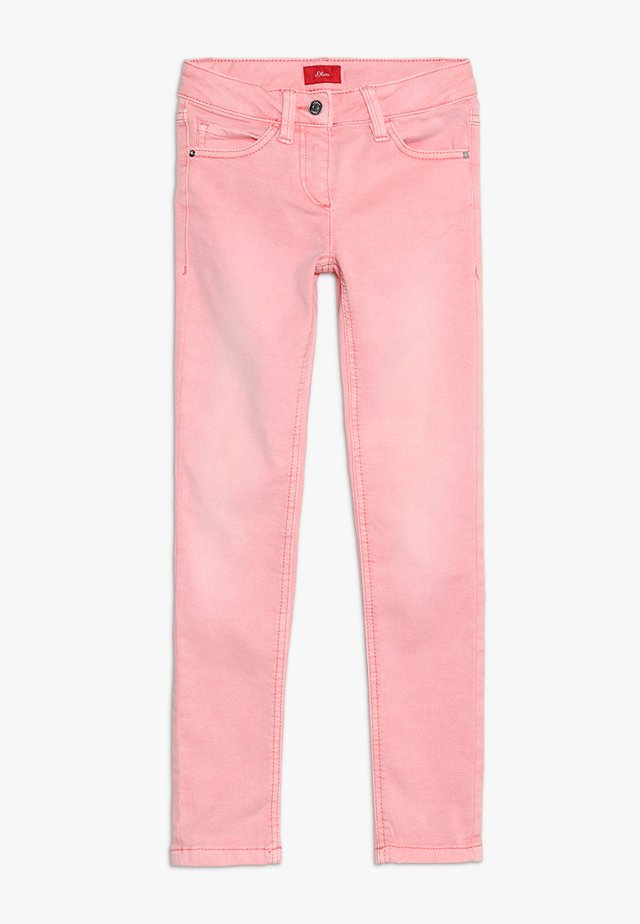 Jeans Skinny Fit - coral red