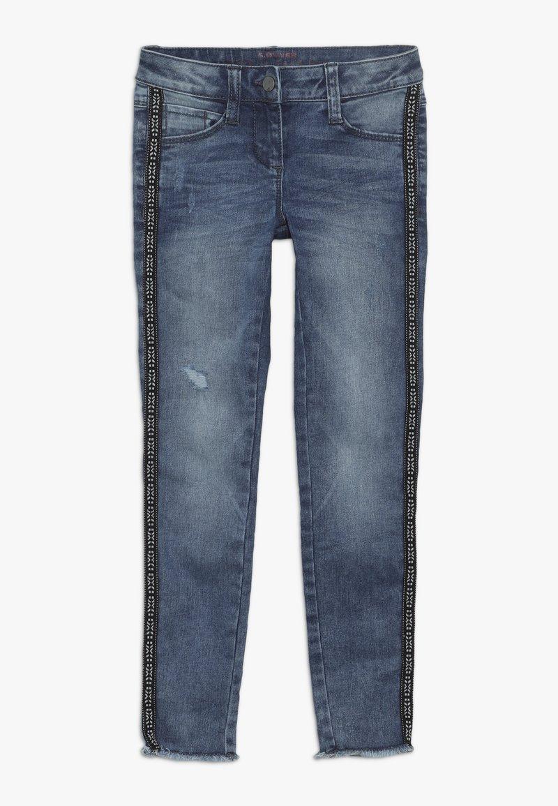 s.Oliver - Vaqueros slim fit - blue denim stretch