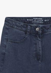 s.Oliver - CULOTTE - Flared Jeans - blue denim - 3