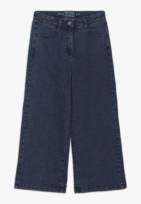s.Oliver - CULOTTE - Flared Jeans - blue denim - 0