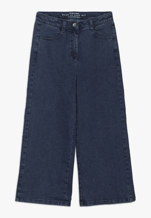 CULOTTE - Flared Jeans - blue denim