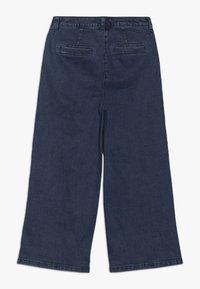 s.Oliver - CULOTTE - Flared Jeans - blue denim - 1