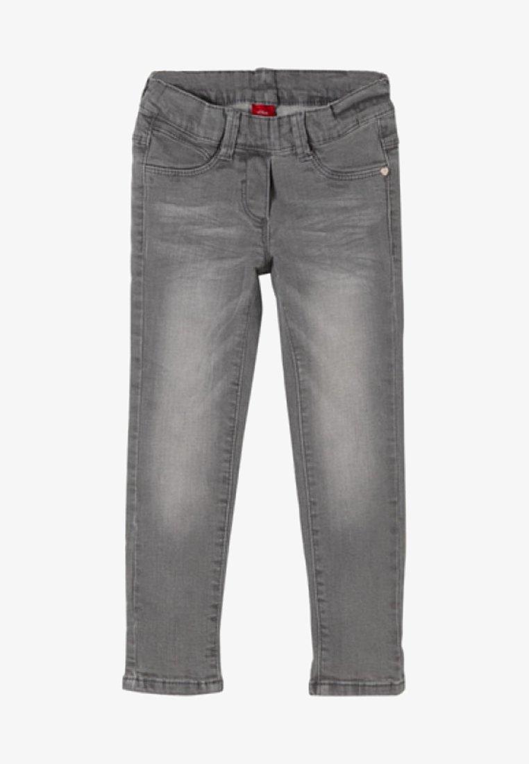 s.Oliver - Jeans Straight Leg - grey denim stretch