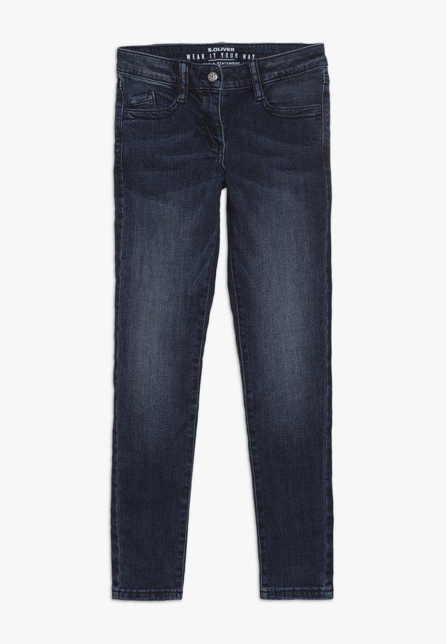 Slim fit -farkut - warm blue
