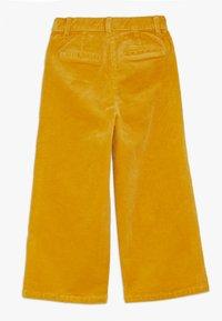s.Oliver - CULOTTE - Kalhoty - dark yellow - 1