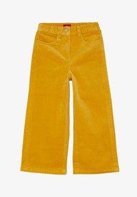 s.Oliver - CULOTTE - Kalhoty - dark yellow - 2