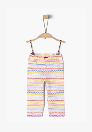 Leggings - Trousers - pink stripes