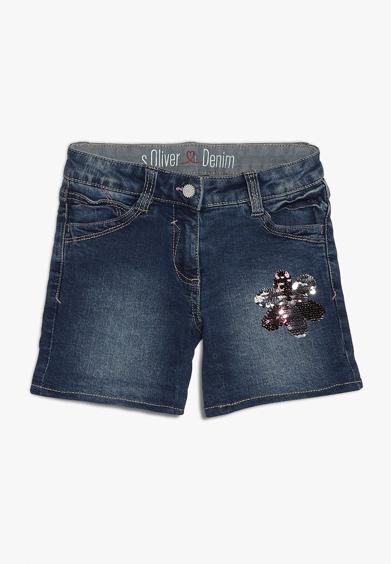 s.Oliver - Jeans Shorts - blue denim