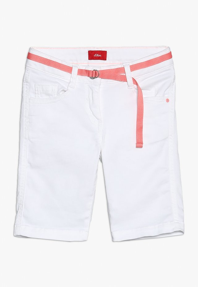 BERMUDA - Shorts - white