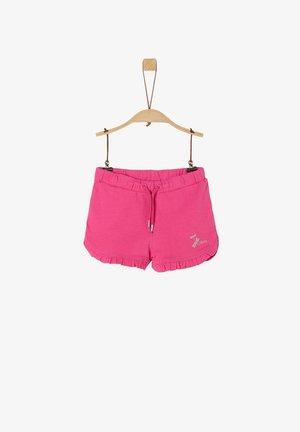 MIT RÜSCHENSAUM - Swimming shorts - pink