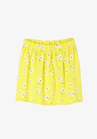 s.Oliver - A-line skirt - yellow aop - 0