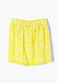 s.Oliver - A-line skirt - yellow aop - 1