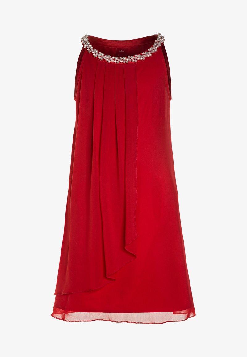 s.Oliver - Vestito elegante - red