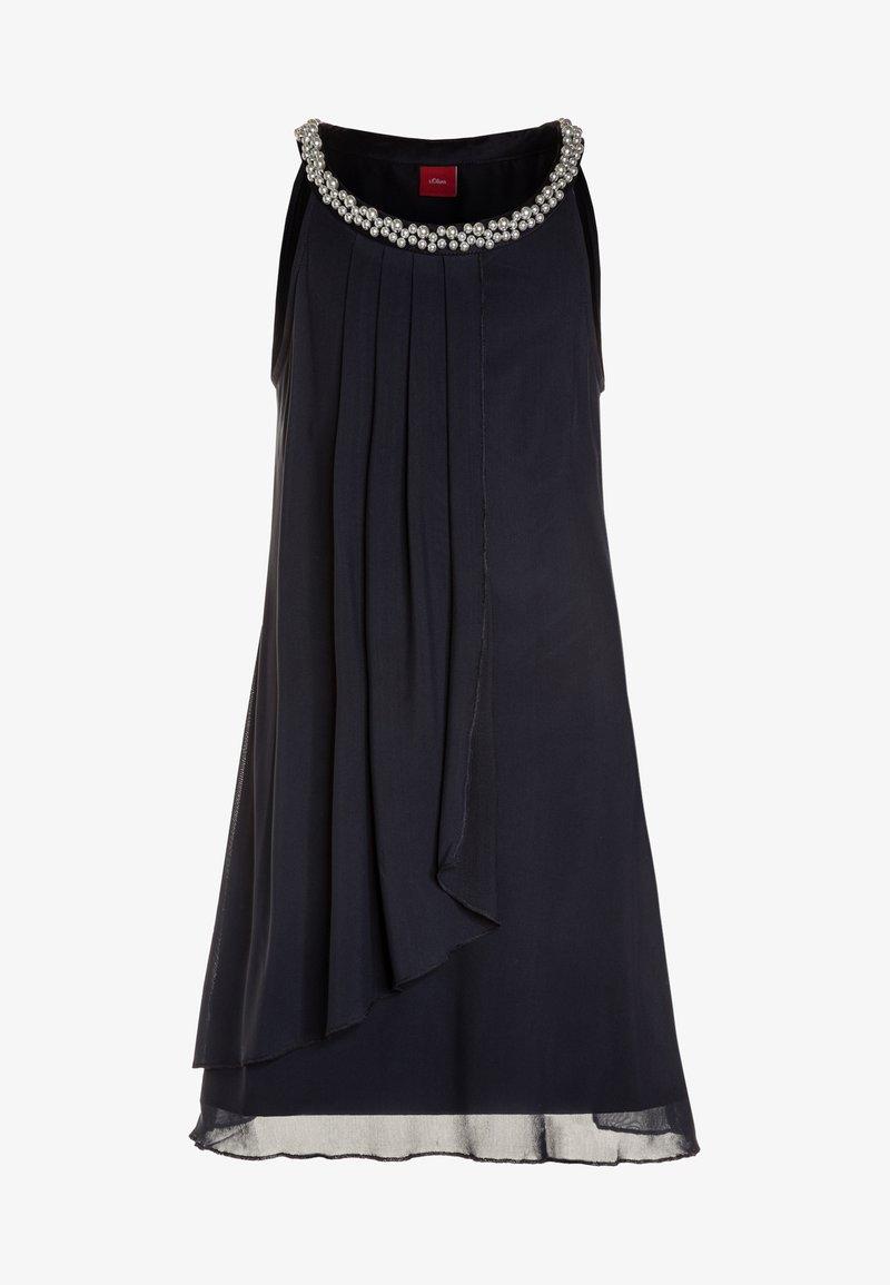 s.Oliver - Cocktail dress / Party dress - dark blue