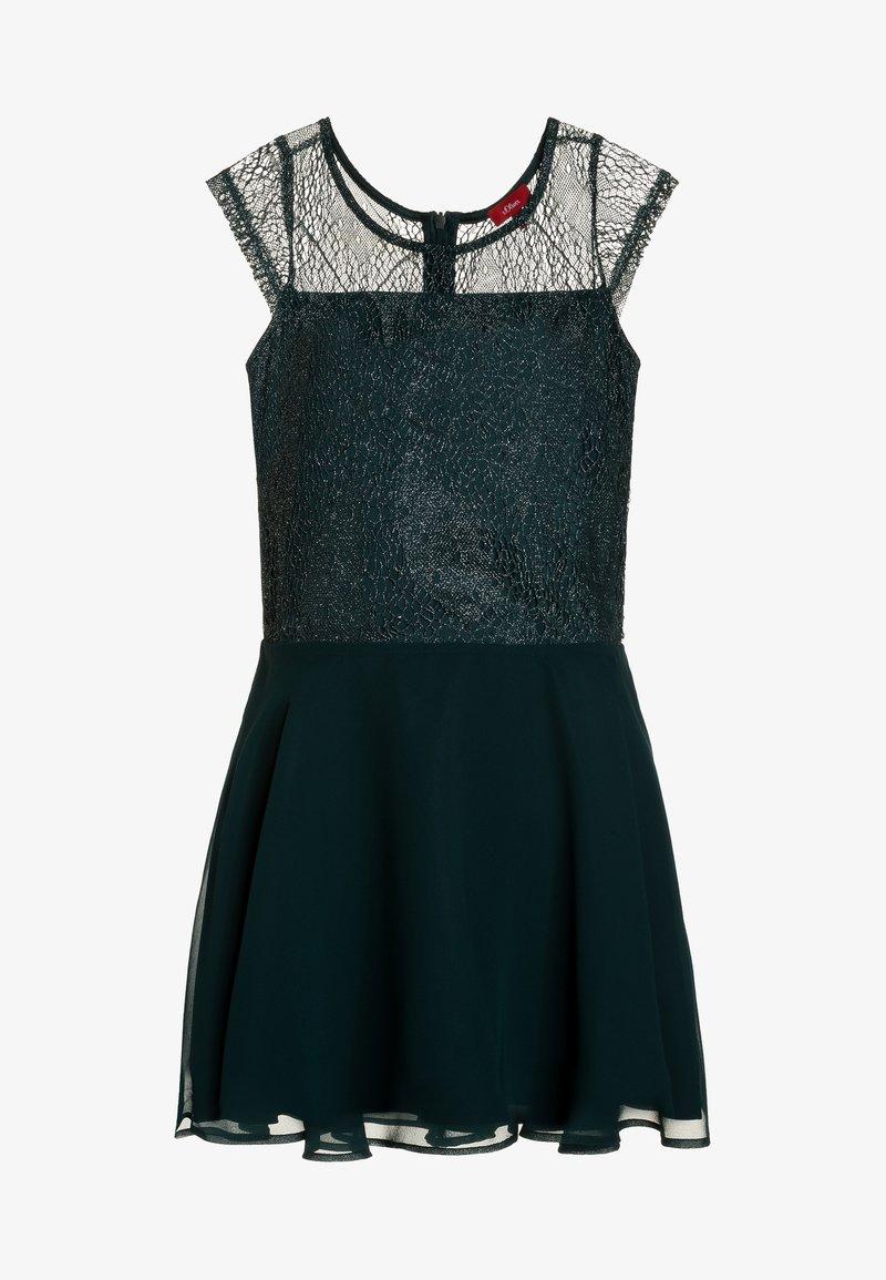 s.Oliver - KURZ - Cocktailkleid/festliches Kleid - dark green