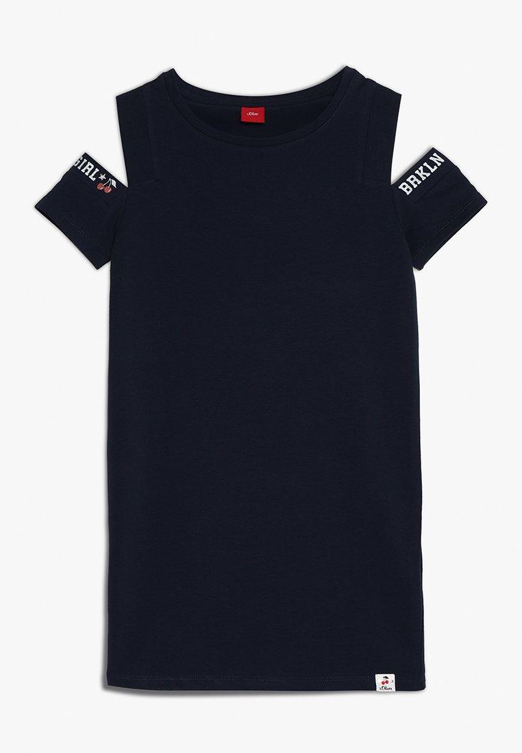 s.Oliver - Jersey dress - dark blue