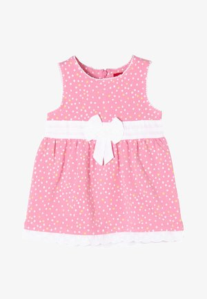MIT SPITZENSAUM - Day dress - pink