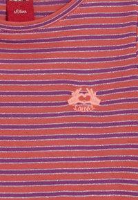 s.Oliver - KURZ - Žerzejové šaty - pink - 4