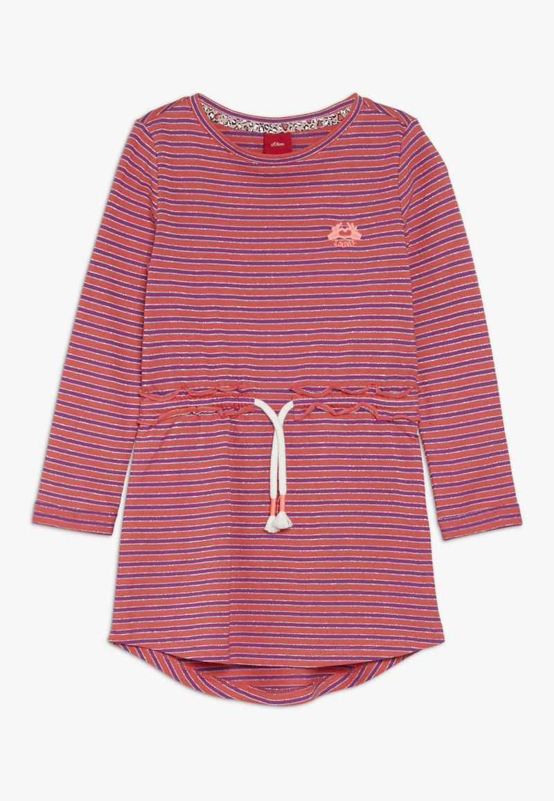 s.Oliver - KURZ - Žerzejové šaty - pink