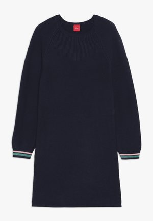 Pletené šaty - dark blue