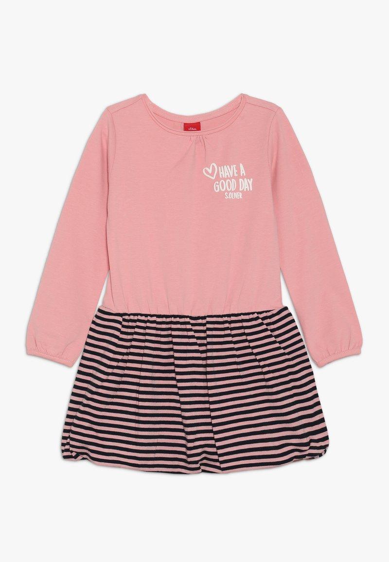 s.Oliver - Sukienka z dżerseju - light pink rosa