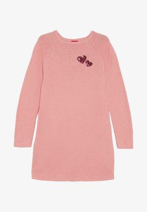 Gebreide jurk - light pink