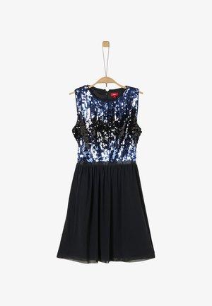 MIT PAILLETTEN-APPLIKATION - Day dress - black