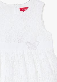 s.Oliver - KURZ - Day dress - white - 3