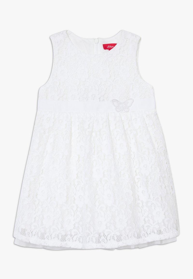 s.Oliver - KURZ - Day dress - white