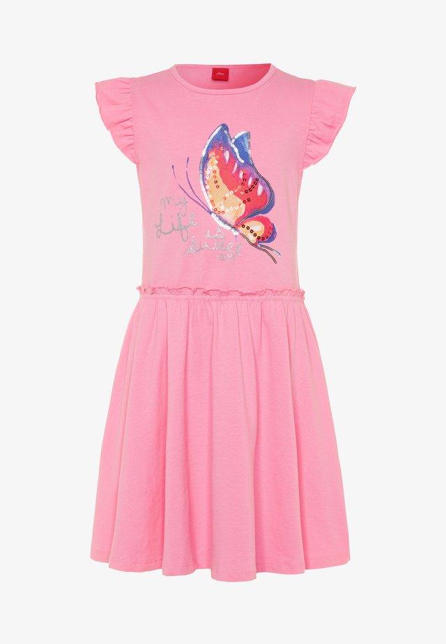 KURZ - Jerseykleid - light pink