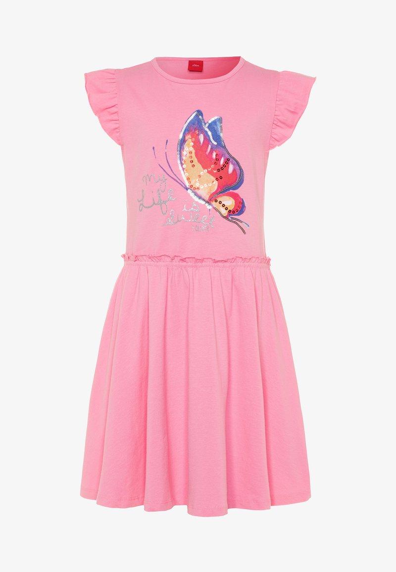s.Oliver - KURZ - Vestido ligero - light pink