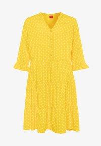 s.Oliver - Sukienka koszulowa - yellow - 0