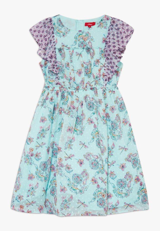 KURZ - Korte jurk - light blue