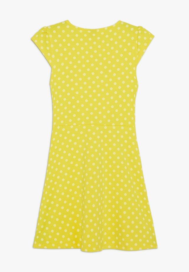KURZ - Jerseyjurk - lemon squeeze