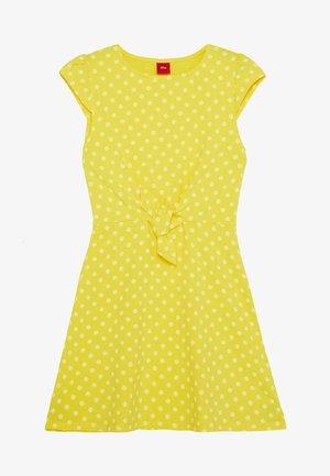 Žerzejové šaty - lemon squeeze