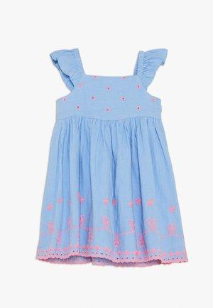 Korte jurk - ultramarin
