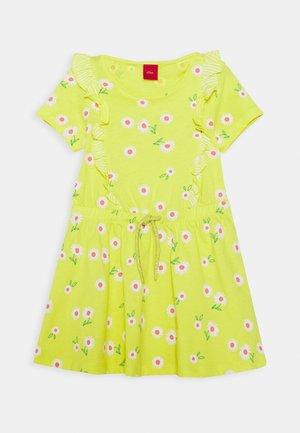 Jersey dress - sunshine