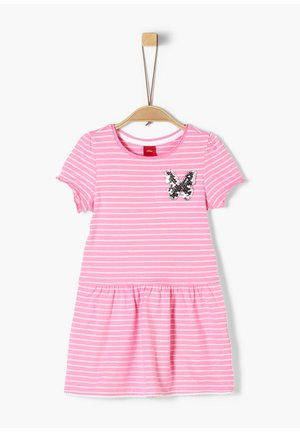Day dress - pink stripes