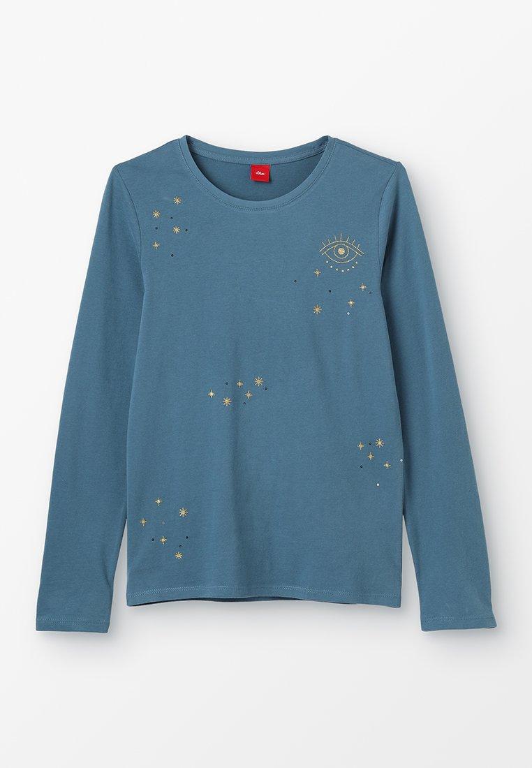 s.Oliver - Langærmede T-shirts - petrol